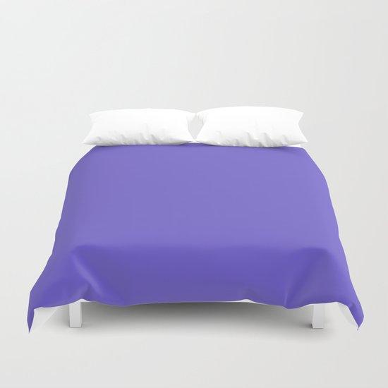 color slate blue Duvet Cover