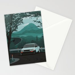 Mountain Pass Drift 01 Stationery Cards