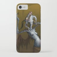 baphomet iPhone & iPod Cases featuring Baphomet by Ejay Basford