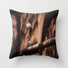 Normal Life Afternoon Light Throw Pillow