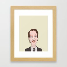 Buscemi Framed Art Print