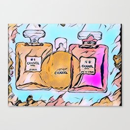 Perfume No. 5 Canvas Print