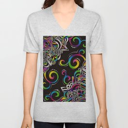 Doodle Magic Unisex V-Neck