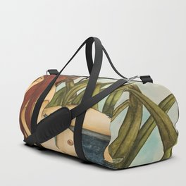 Red Head Nymph Duffle Bag