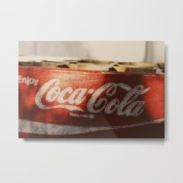Enjoy Coca-Cola Metal Print