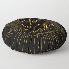 Temper us in Fire - The Mortal Instruments Floor Pillow