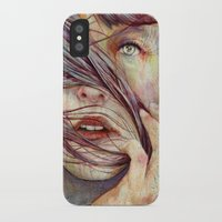 michael jackson iPhone & iPod Cases featuring Opal by Michael Shapcott