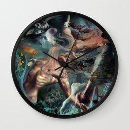 My Petri Dish Wall Clock