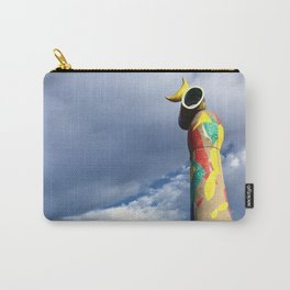 Joan Miró's Woman and Bird Sculpture Carry-All Pouch
