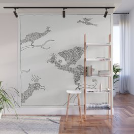 For the Birds Wall Mural