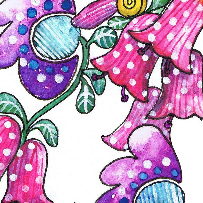 Flowers in Her Hair Leggings