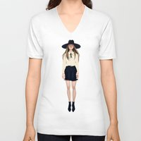 coven V-neck T-shirts featuring Coven by Isaiah K. Stephens