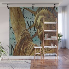 New York STATUE OF LIBERTY Wall Mural