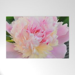 Joy of a Peony by Teresa Thompson Welcome Mat