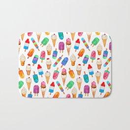 Summer Pops and Ice Cream Dreams Bath Mat