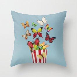 Buttercorn a.k.a Popflies Throw Pillow