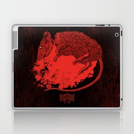 Decapitated by dishwasher III (red) Laptop & iPad Skin