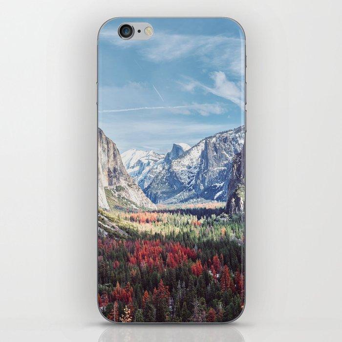 Tunnel View Yosemite Valley iPhone Skin