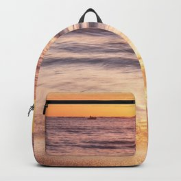 The golden beach Backpack