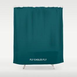 Philadelphia Football Fly Eagles Fly Minimalist Shower Curtain
