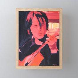 Guitarist Fado Framed Mini Art Print