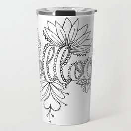 Bollocks Adult Coloring Design Travel Mug