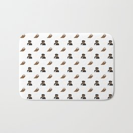 Biggie & Tupac Pattern Bath Mat