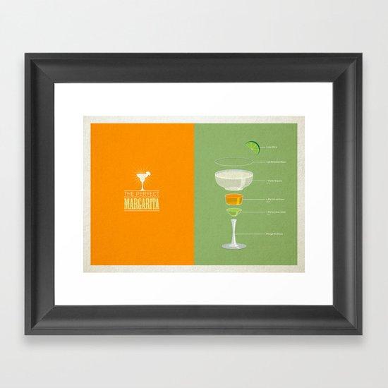 The Perfect Margarita Framed Art Print