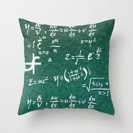 Math Equations Throw Pillow