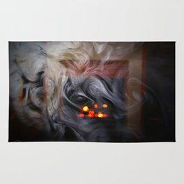 Painting with Smoke - The Eye of Wisdom Rug