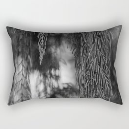 Plant Curtain 2 Rectangular Pillow