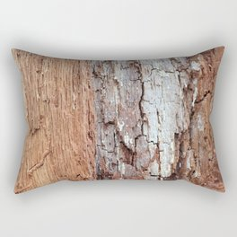 Natural Wood Texture: Maine Rectangular Pillow