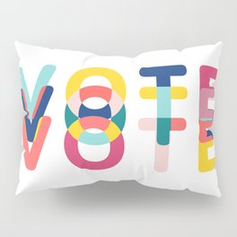 Modern Vote Pillow Sham