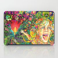 lsd iPad Cases featuring Eurydice in the Underworld (LSD) by reservenote