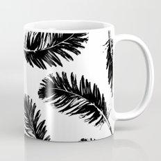 Black feathers Mug