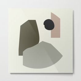 Shape study #35 - Lola Collection 2019 Metal Print