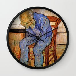 At Eternity's Gate by Vincent van Gogh Wall Clock