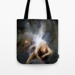 """Witold Pruszkowski """"Falling star"""" Tote Bag"""