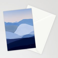 Blue C. Montains Stationery Cards