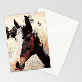 Portrait Of A Gentle Friend Stationery Cards