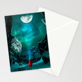 little Red Riding Hood l Caperucita roja Stationery Cards