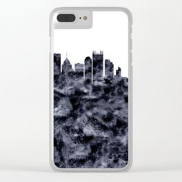Pittsburgh Skyline Pennsylvania Clear iPhone Case