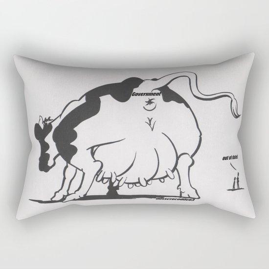 Milked? Rectangular Pillow