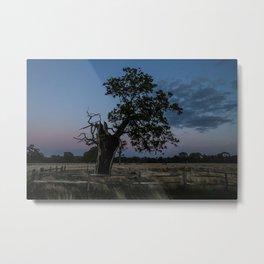 The Moody Tree. Metal Print