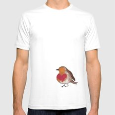 Another bird MEDIUM Mens Fitted Tee White