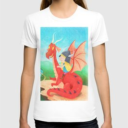 The Girl and The Dragon T-shirt