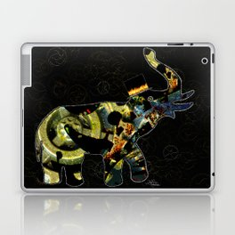 Steampunk Elephant, Scanography Art Laptop & iPad Skin