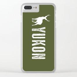 Deer: Yukon, Canada Clear iPhone Case