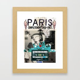 Paris Culo-thé Framed Art Print
