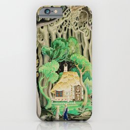 1925 Classical Masterpiece 'Hansel and Gretel by Brothers Grimm' by Kay Nielsen iPhone Case